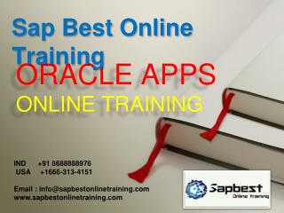 ORACLE APPS DBA ONLINE TRAINING | ORACLE APPS DBA Project Su