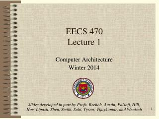 EECS 470 Lecture 1