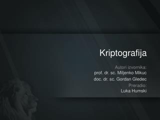 Kriptografija