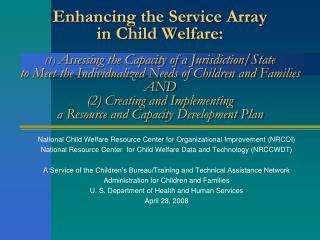 National Child Welfare Resource Center for Organizational Improvement (NRCOI)
