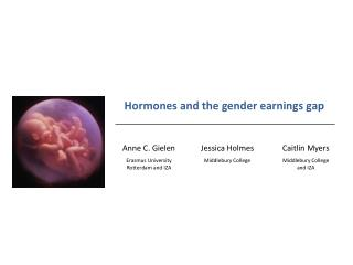 Hormones and the gender earnings gap