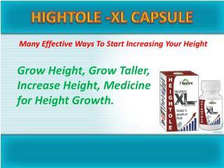 Hightole-xl capsule