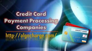 Credit Card Payment Processing Companies
