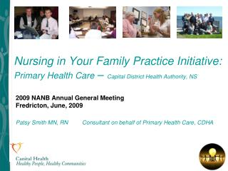 2009 NANB Annual General Meeting Fredricton, June, 2009