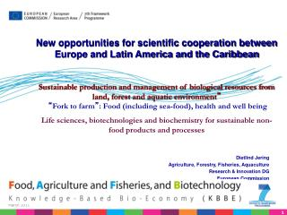 New opportunities for scientific cooperation between Europe and Latin America and the Caribbean