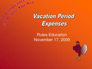 Rules-Education November 17, 2009