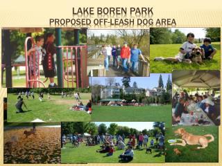 Lake Boren Park Proposed Off-Leash Dog Area