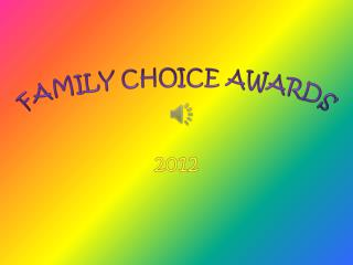 Family Choice Awards