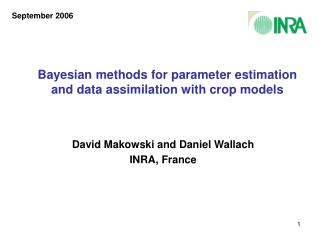 Bayesian methods for parameter estimation and data assimilation with crop models