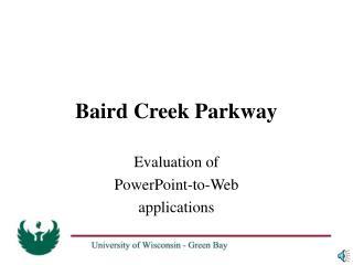 Baird Creek Parkway