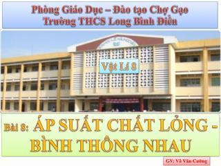 GV: Võ Văn Cường