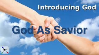 God As Savior
