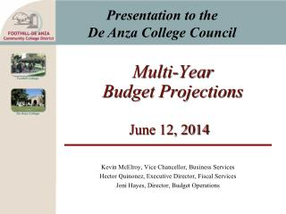 Multi-Year Budget Projections