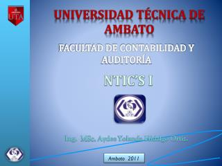 Ing.   MSc. Aydee  Yolanda Hidalgo Ortiz.