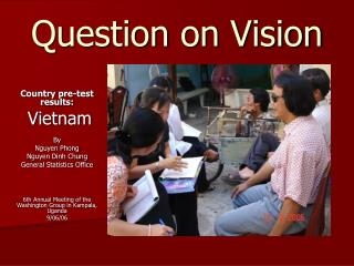 Question on Vision
