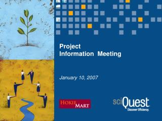 Project  Information  Meeting