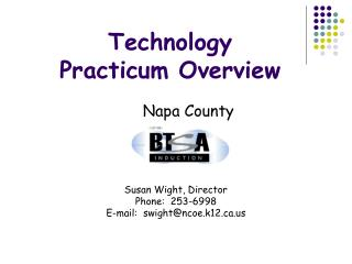 Technology  Practicum Overview