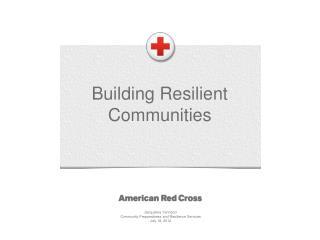 Building Resilient Communities