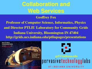 Collaboration and  Web Services
