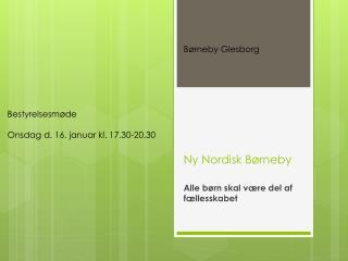 Ny Nordisk Børneby