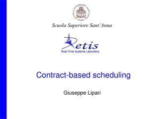 Contract-based scheduling