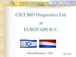 CIET BIO Diagnostics Ltd.