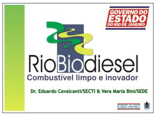 Combustível limpo e inovador