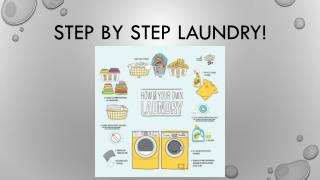 Step by Step Laundry!