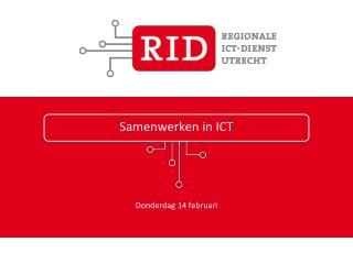 Samenwerken in ICT