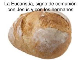 La Eucaristía, signo de comunión con Jesús y con los hermanos