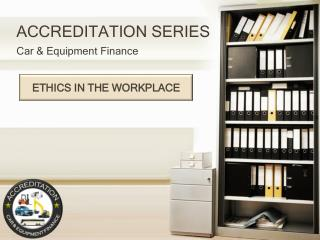 ACCREDITATION SERIES