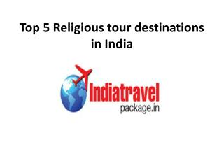 top 5 religious tour places in india