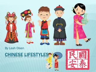 Chinese lifestyles