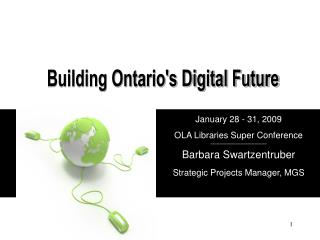 Building Ontario's Digital Future