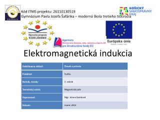 Elektromagnetická indukcia