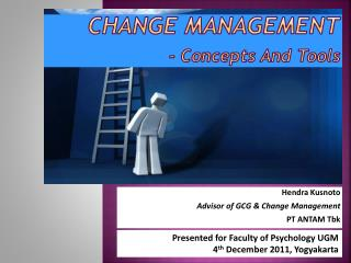 Change Management - Concepts And Tools