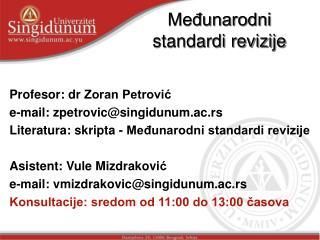 Međunarodni standardi revizije