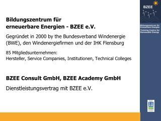 Bildungszentrum für erneuerbare Energien - BZEE e.V.