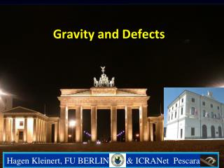 Gravity  and Defects