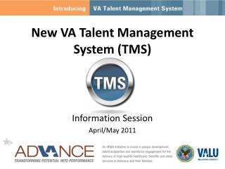 New VA Talent Management System (TMS)