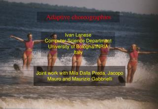 Adaptive choreographies