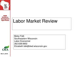Labor Market Review
