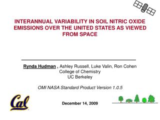 INTERANNUAL VARIABILITY IN SOIL NITRIC OXIDE EMISSIONS OVER THE UNITED STATES AS VIEWED FROM SPACE