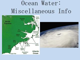 Ocean Water: Miscellaneous Info