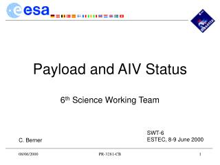 Payload and AIV Status