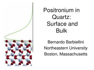 Positronium  in Quartz:  Surface and Bulk
