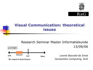 Visual Communication: theoretical issues