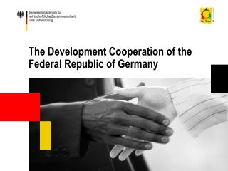The Development Cooperation of the Federal Republic of Germany