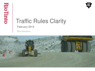 Traffic Rules Clarity