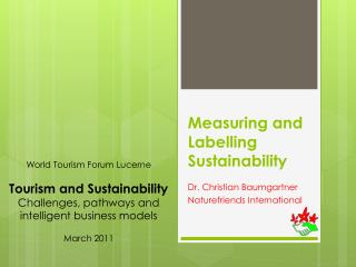 Measuring and Labelling Sustainability